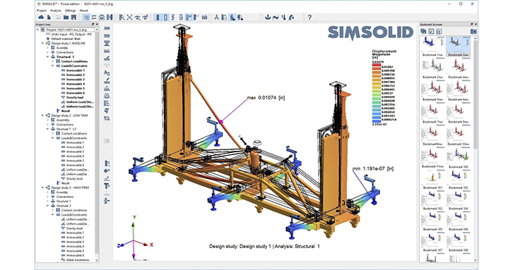 Large Assembly SimSolid